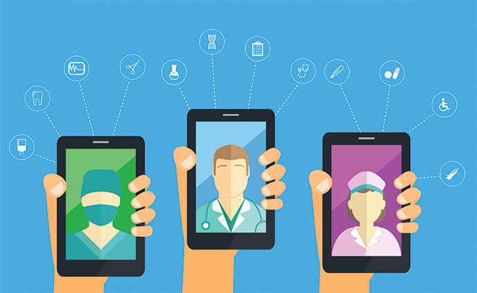 mHealth app use marks patient motivate to make positive health changes.