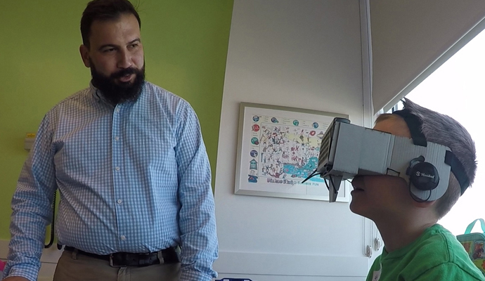 VR in healthcare is best suited to improve the patient care experience, according to Jeremy Patterson.